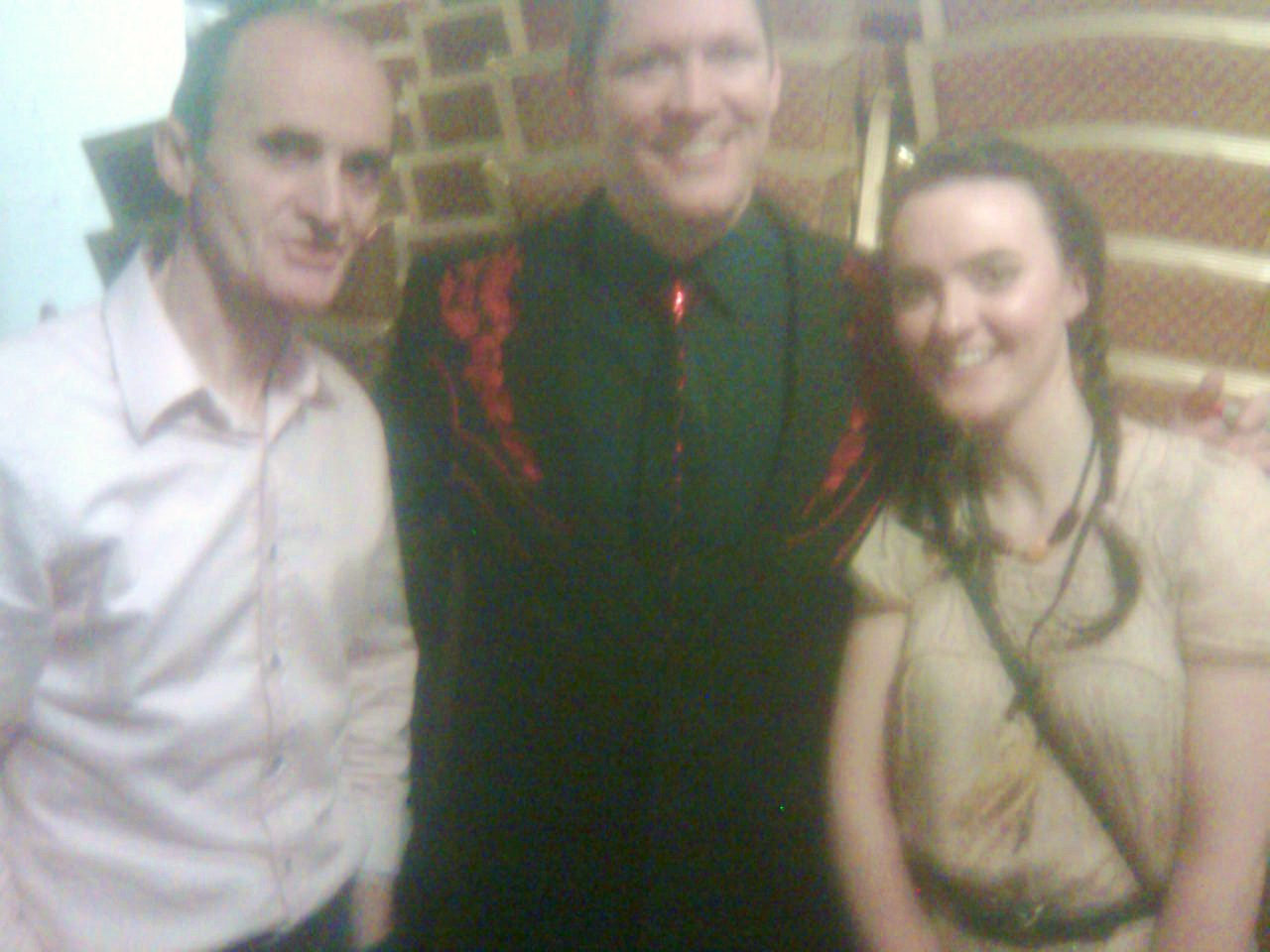 Performing with Robert Mizzell